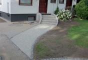 Weg und Treppe nachher